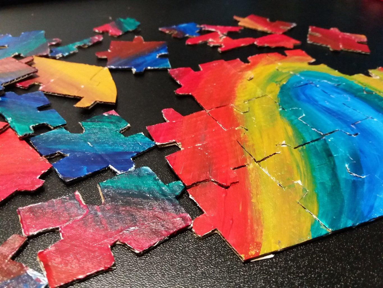 Easy Cardboard Puzzle