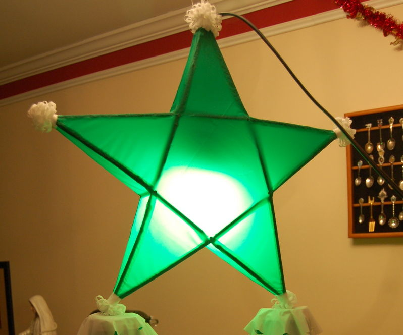 Make a Parol - a Filipino Christmas Lantern