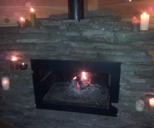 Patio / Terras Fireplace