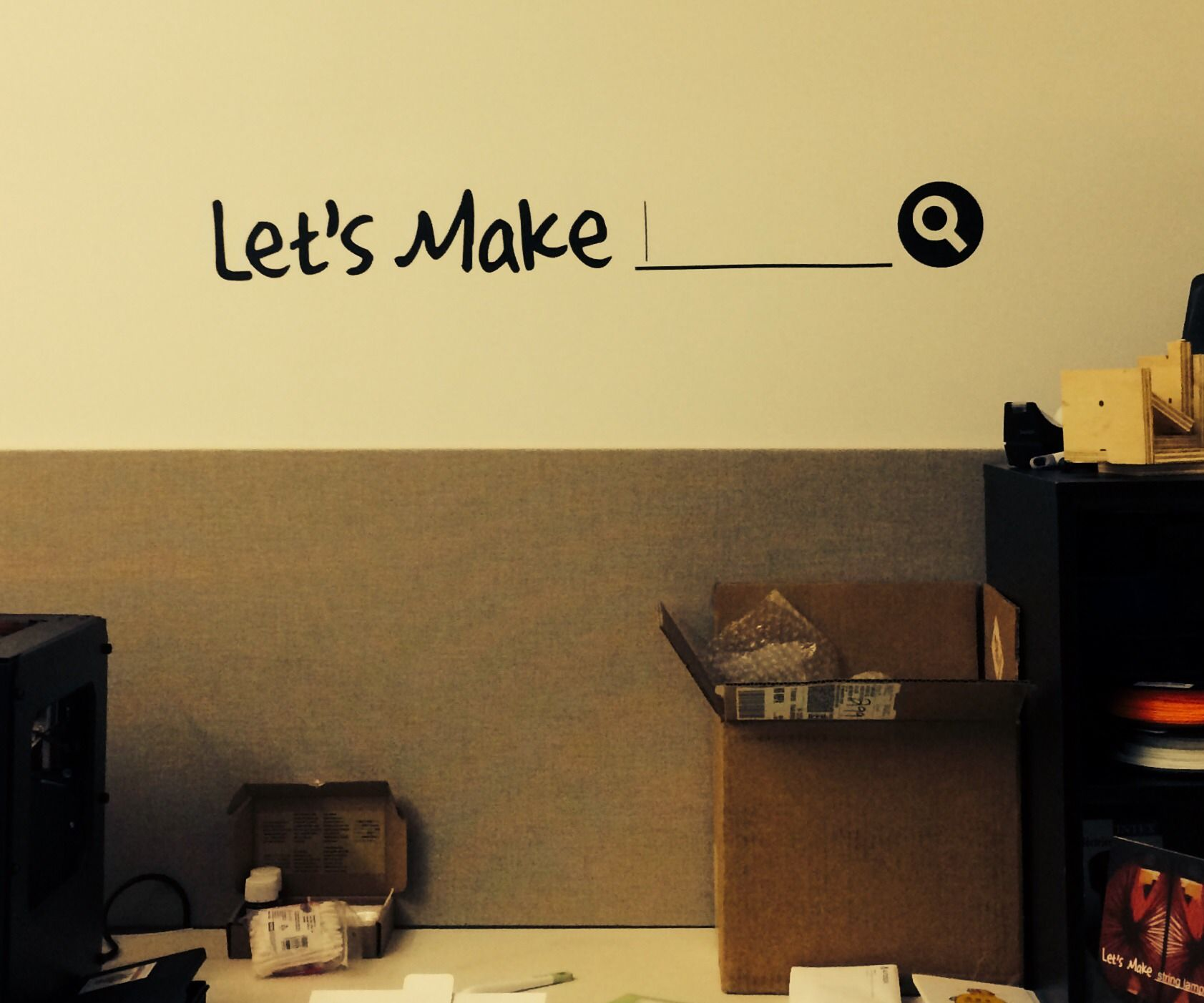 Let's Make your own vinyl wall decals
