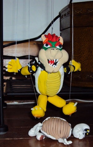 Bowser Marionette Finished