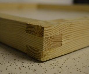 Three Finger Box Joint Using a Tenon Jig
