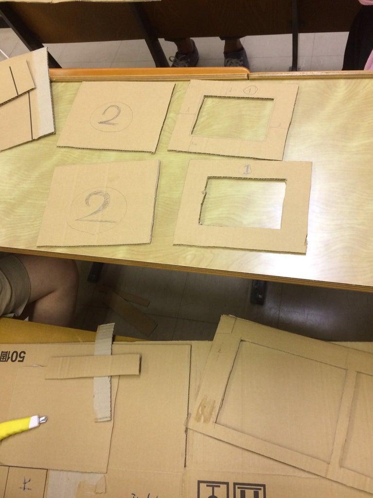 Cutting Cardboard