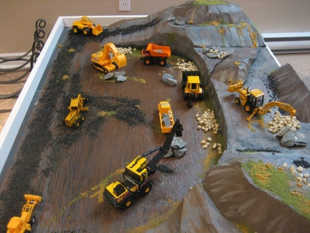 Convert a Train Table to a Construction Zone Table