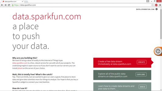 Setting Up the Sparkfun Account