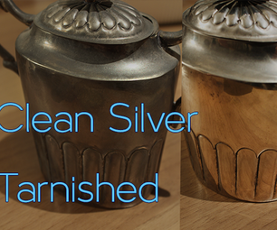 How to Clean Tarnished Silver