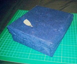 Tea Box Turned Tealight Candle Storage