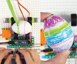 """L-egg-o"" Lego Egg Decorator Robot"