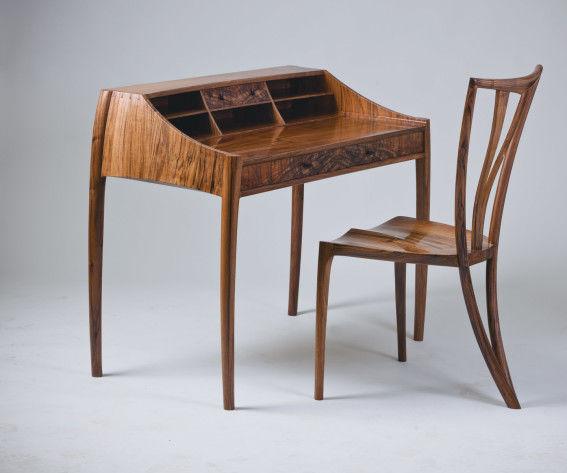 Making a Walnut Desk & Chair