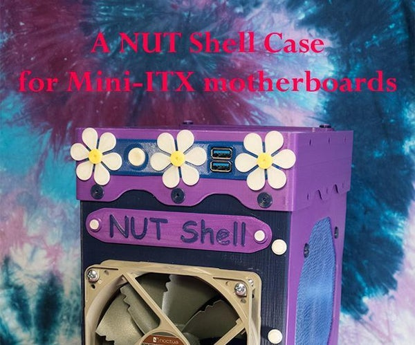 NUT Shell Case for Mini-ITX  (Prints on Ender 3)