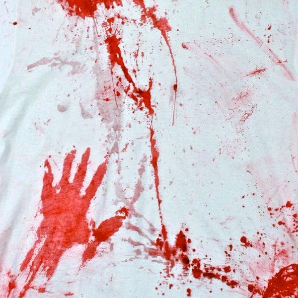 Scary Splattered Shirt