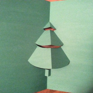 How To Make A Pop Up Christmas Tree Card 6 Steps Instructables