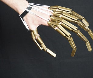 3D Printed Articulated Finger Extensions
