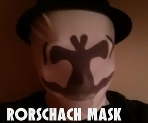Rorschach Mask: Thermochromic Paint
