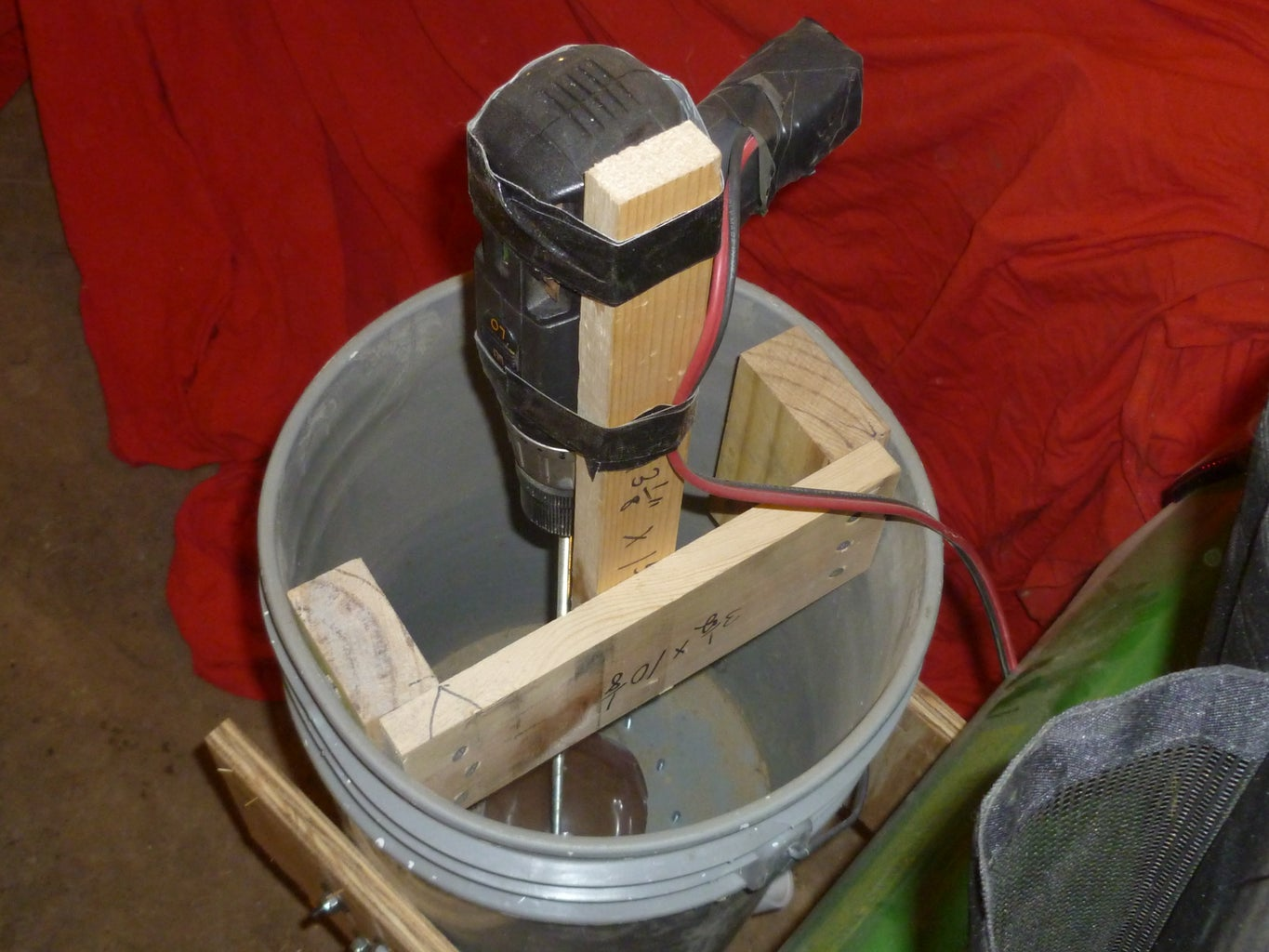 Make the Drill Mounting Assembly