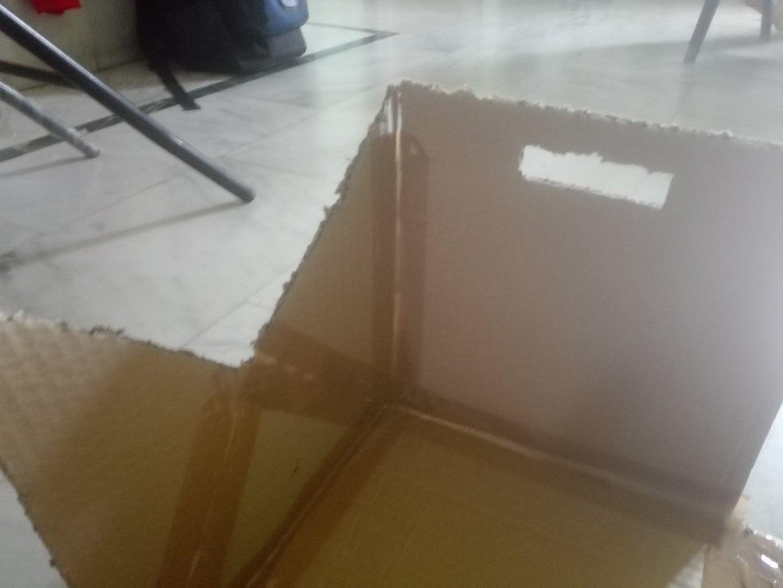 Tape the Cardboard...