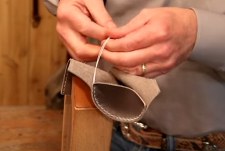 Finish With a Square Knot
