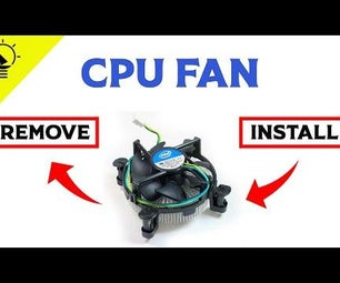 How to Remove an Intel CPU Fan