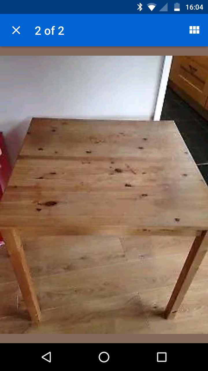 Start With a Cheap Used Table