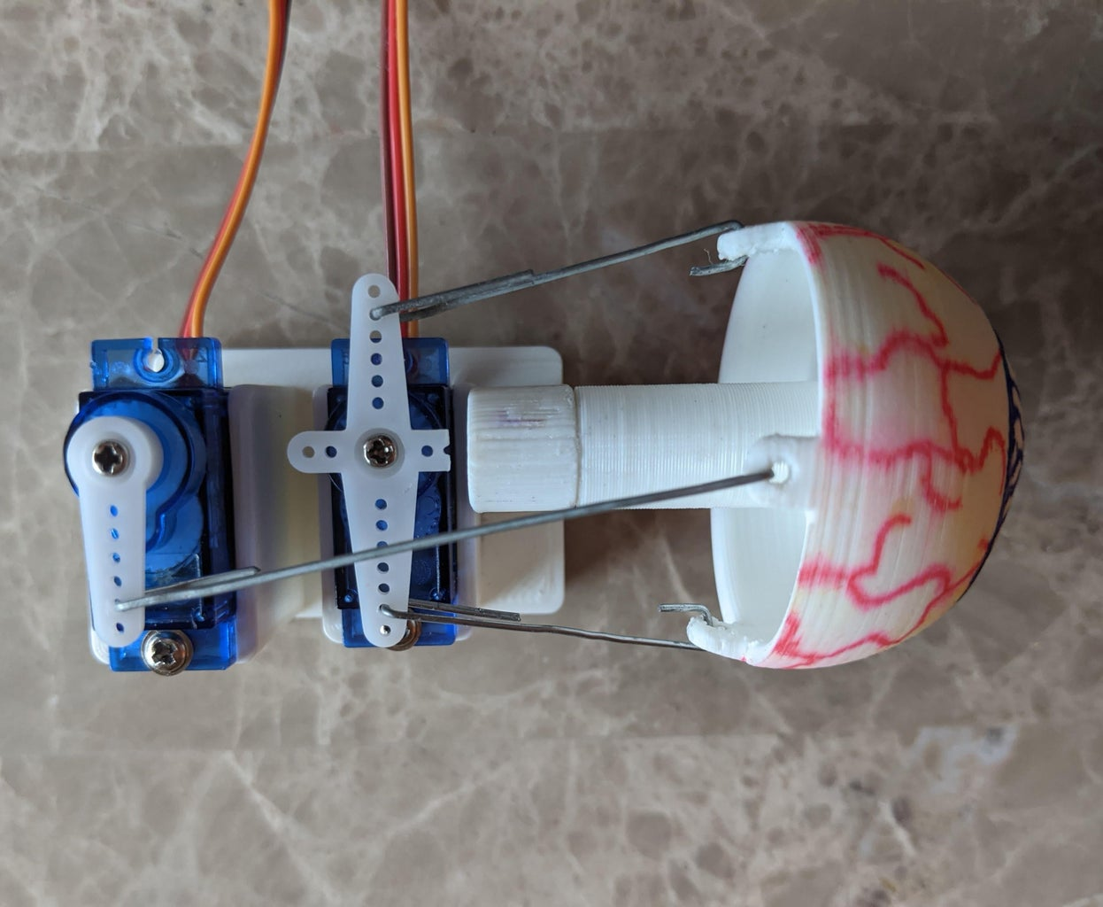 Home Your Servos and Finish the Eye Mechanism