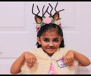 Fawn Deer Headband DIY
