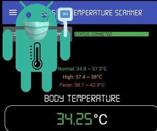 Wireless IR Temperature Scanner