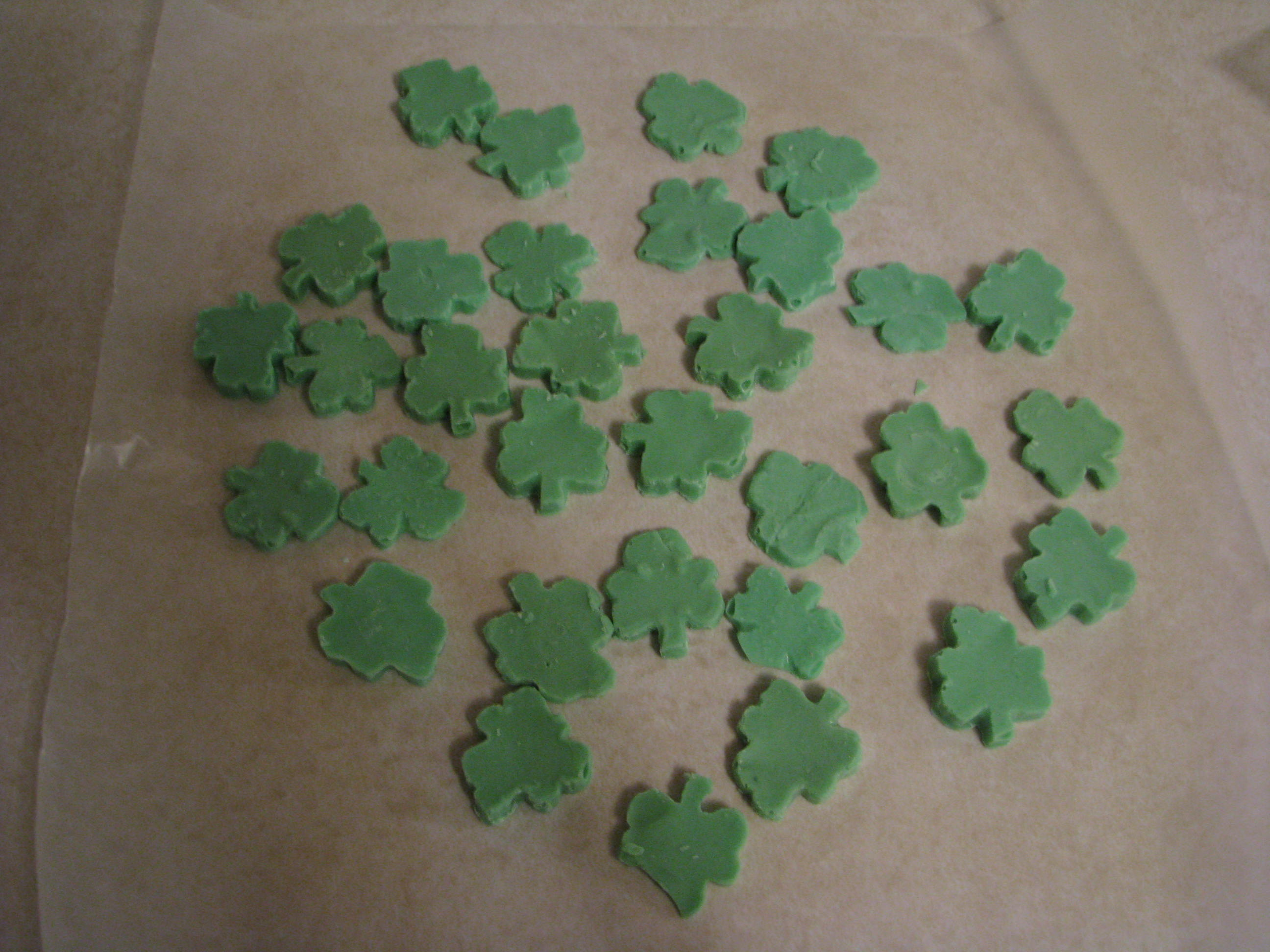 St. Patrick's Day Chocolate Shamrocks