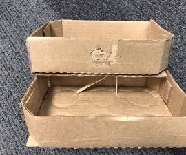 Cardboard Crochet Compartment