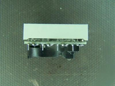 Solder in the 8x8 LED Matrix.