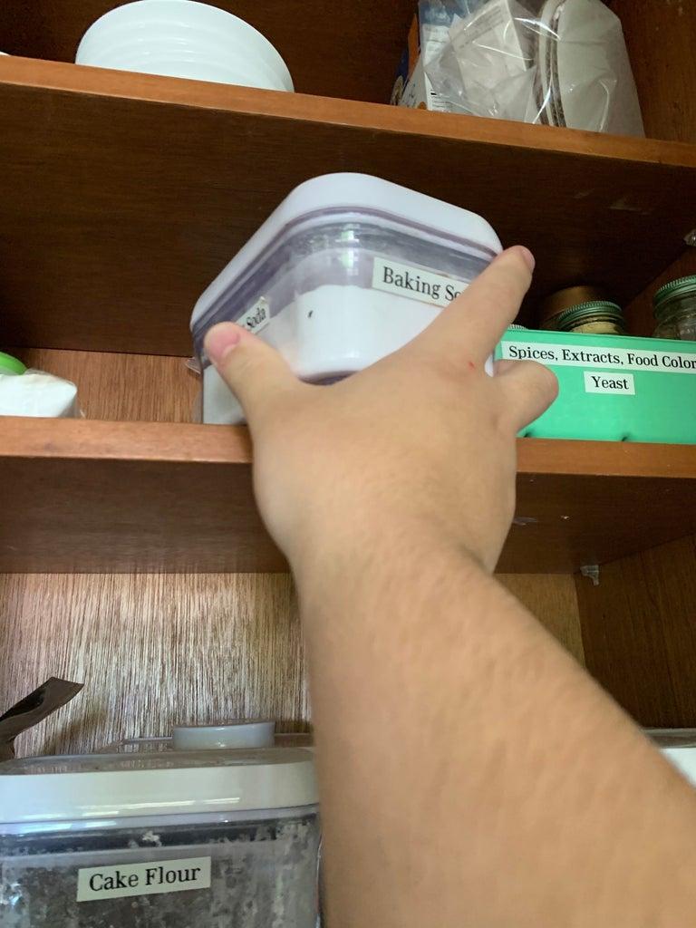 Put Away Ingredients