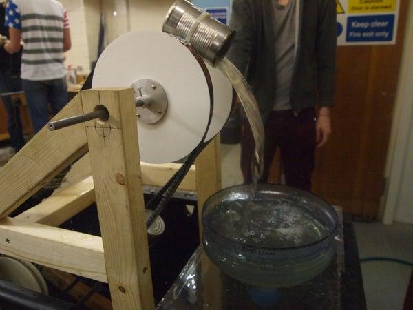 The Crocodile's Bucket & Chain Water Pump
