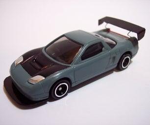 How to Modify a Die-Cast Car