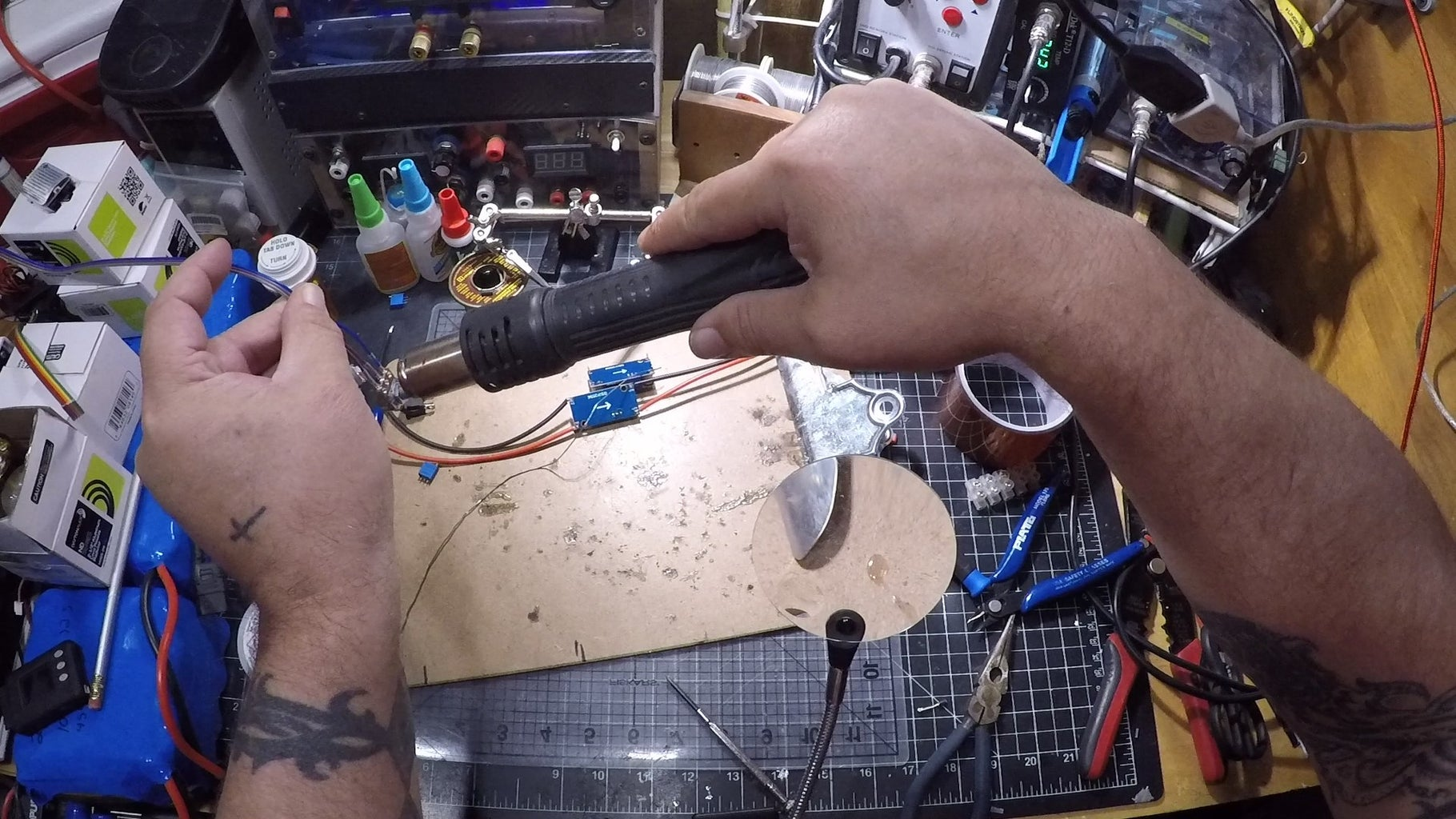 Prep the Smaller Fan Buck Converter