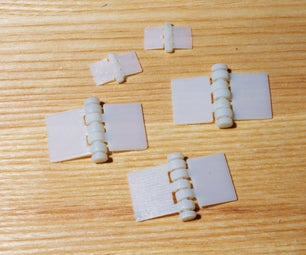 3D Printed Hinges