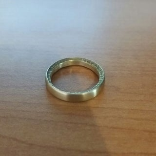 Golden Dollar Ring