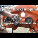 Replace Broken Spindles on Riding Mower