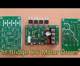 H Bridge PWM DC Motor Driver