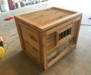 Monster-In-A-Box Halloween Prop (Part 1, the Box) or Just a Good Pallet Box