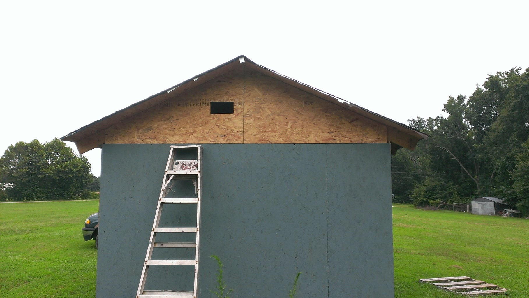 Finishing Touches to the Outside