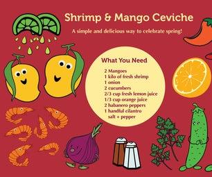 Shrimp & Mango Ceviche