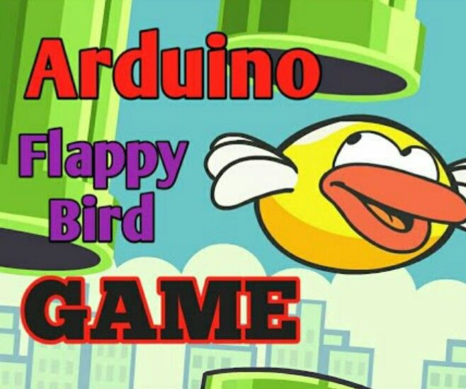 "Arduino Flappy Bird | Arduino 2.4"" TFT Touchscreen SPFD5408 Bird Game Project"