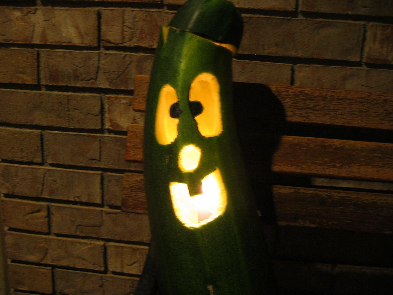 Carve A.....Zucchini?