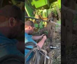 Changing a PTO Shaft