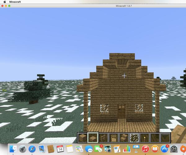 Simple Minecraft House