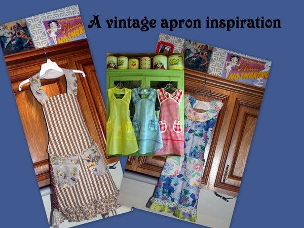 A Vintage Apron Inspiration