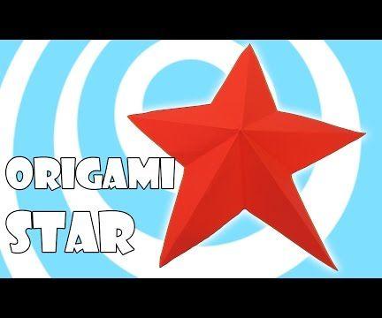 Easy Origami Christmas Star