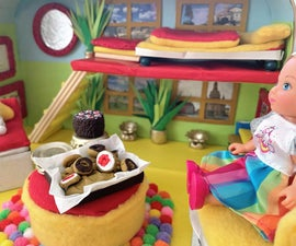 Travel Dollhouse in a Suitcase