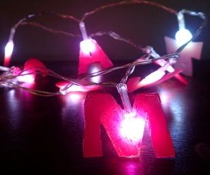 Personalised Fairy Lights
