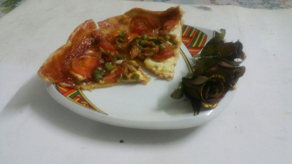 Easy Cheesy Pizza
