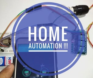 HOME AUTOMATION (CONTROL YOUR APPLIANCES FROM ANY CORNER OF THE WORLD).